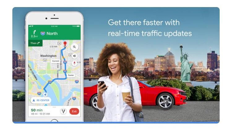 Free Travel Apps google maps