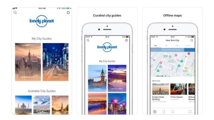 Free Travel Apps Lonely Planet
