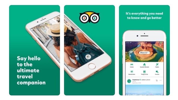 Free Travel Apps TripAdvisor