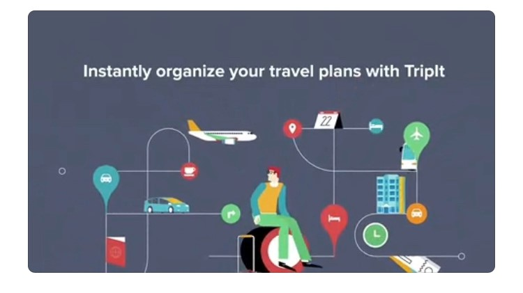 Free Travel Apps instantly organize your travel plans