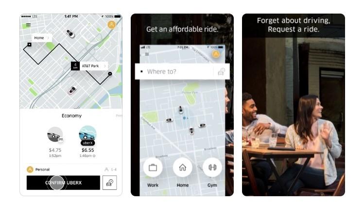 Free Travel Apps Uber