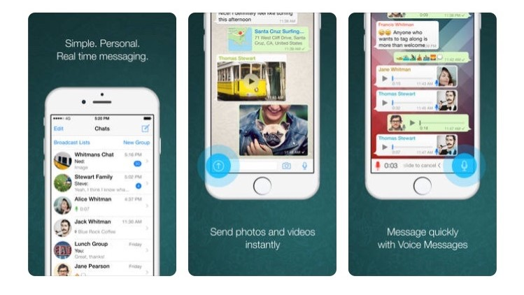 Free Travel Apps With WhatsApp, call your friends and family for free. Send photos, videos and voice messages instantly.