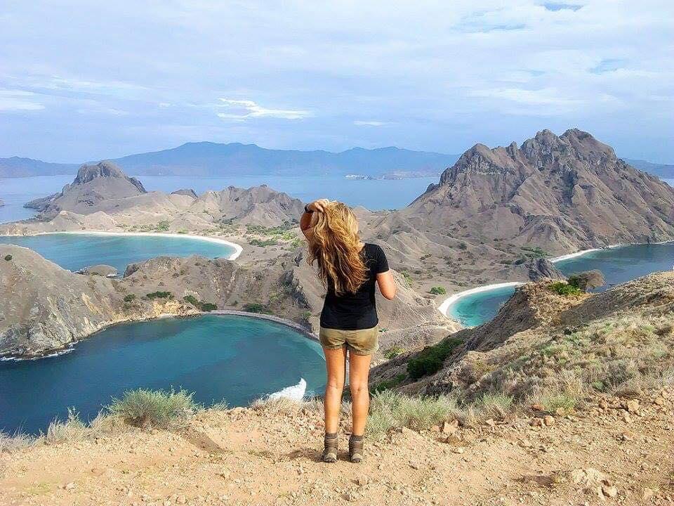 Komodo Rinca Island view point